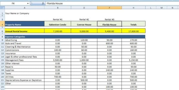 Excel Formulas Excel Spreadsheets Templates Spreadsheet Templates for Business