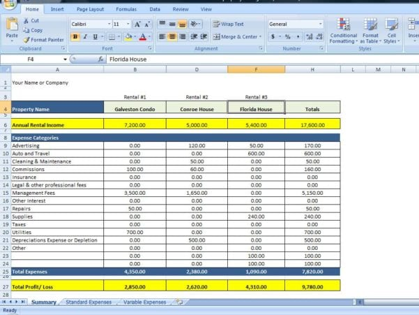 Excel Formulas Excel Spreadsheets Templates Spreadsheet Templates for Busines