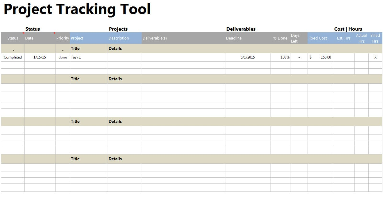 free project management spreadsheet project management template excel project tracking tools contoh timeline project excel task