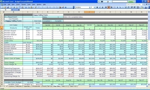 Expense Report Spreadsheet Template 1