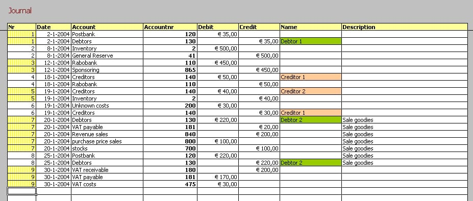 Free Accounting Templates