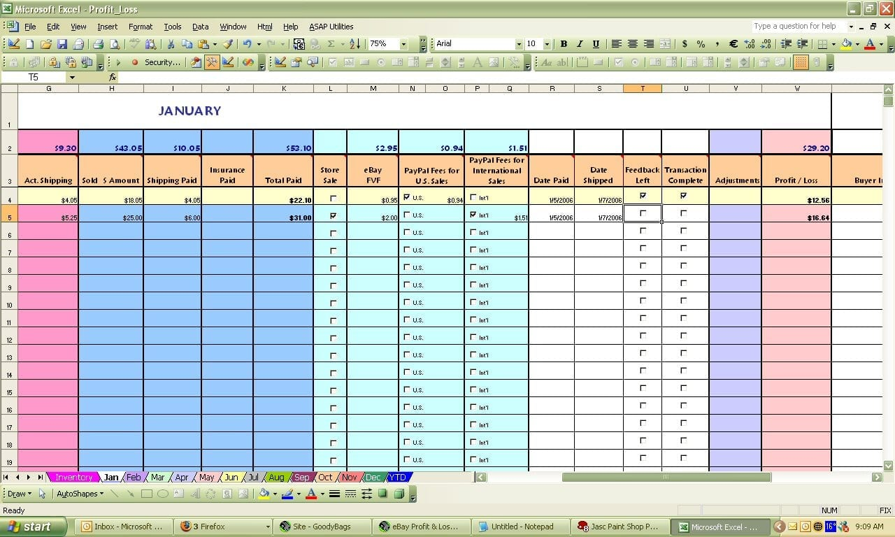 Ebay spreadsheet template spreadsheet templates for for Excel templates free download