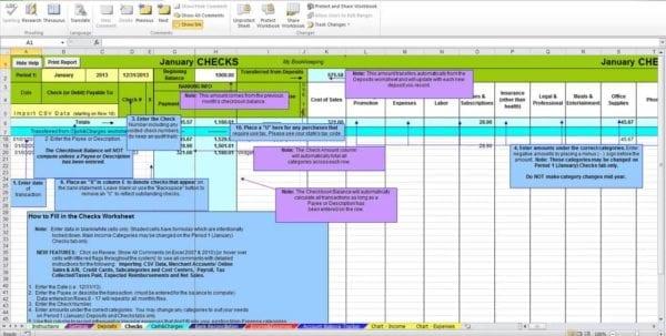 Free Excel Bookkeeping Spreadsheet