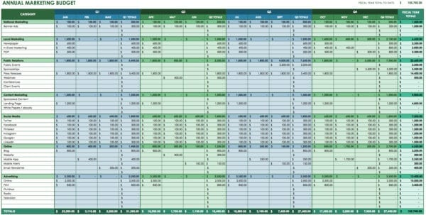 Free Monthly Budget Worksheet Template Budget Spreadsheet Budget Spreadsheet, Spreadsheet Templates for Business