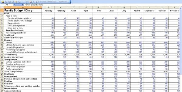 Free Personal Finance Spreadsheet Template
