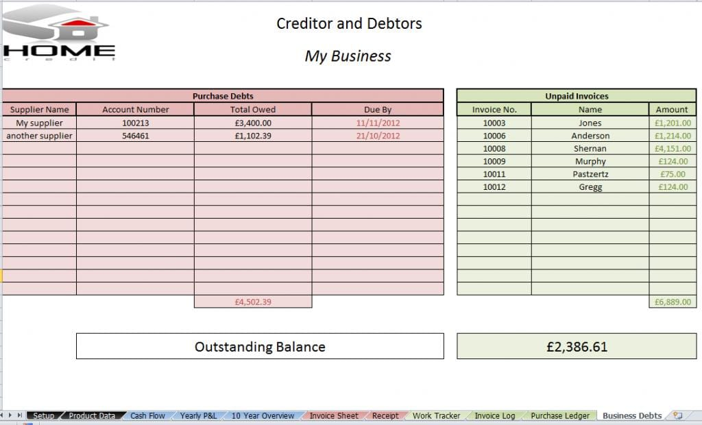 free excel bookkeeping templates free spreadsheet