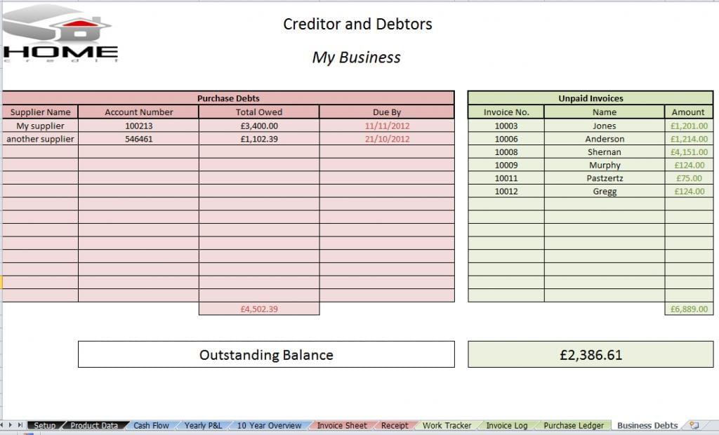 free excel bookkeeping templates  u2014 excelxo com