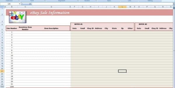 Free Spreadsheet For Ebay Sales Ebay Spreadsheet Template Ebay Spreadsheet, Spreadsheet Templates for Business