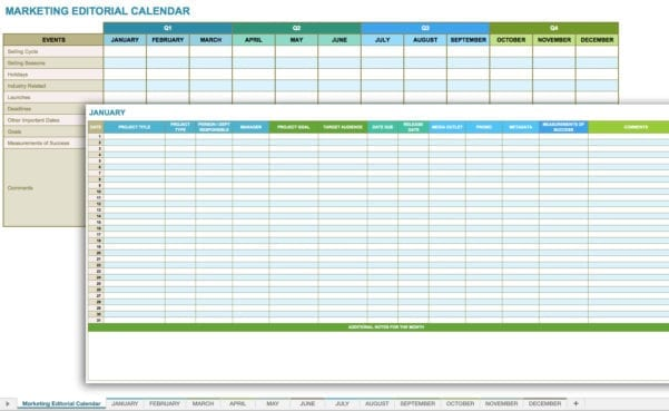 Household Budget Spreadsheet Monthly Template