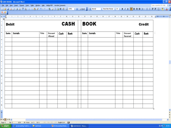 Basic Accounting Formulas Printable Worksheet 1