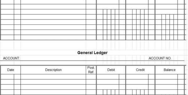 How To Maintain Accounts In Excel Sheet Format 3 Excel Accounting Templates General Ledger Accounting Spreadsheet, Spreadsheet Templates for Business