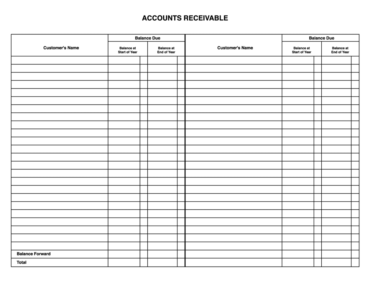 How To Maintain Accounts In Excel Sheet Format