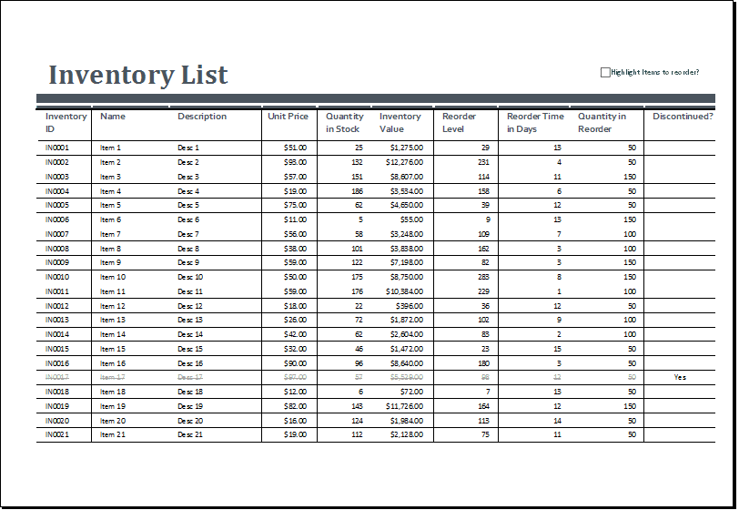 Inventory Management Excel Format Free Download Sample Excel File Inventory Inventory Spreadsheet Spreadsheet Templates for Busines Inventory Spreadsheet Spreadsheet Templates for Busines Excel Inventory Management Template
