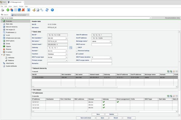 Ip Address Allocation Spreadsheet Template