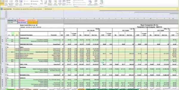 Labor Estimate Template