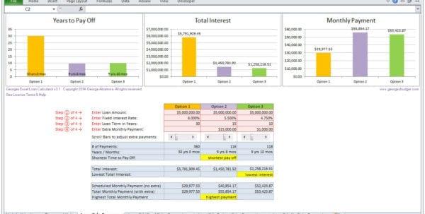 Loan Amortization Schedule Excel Download