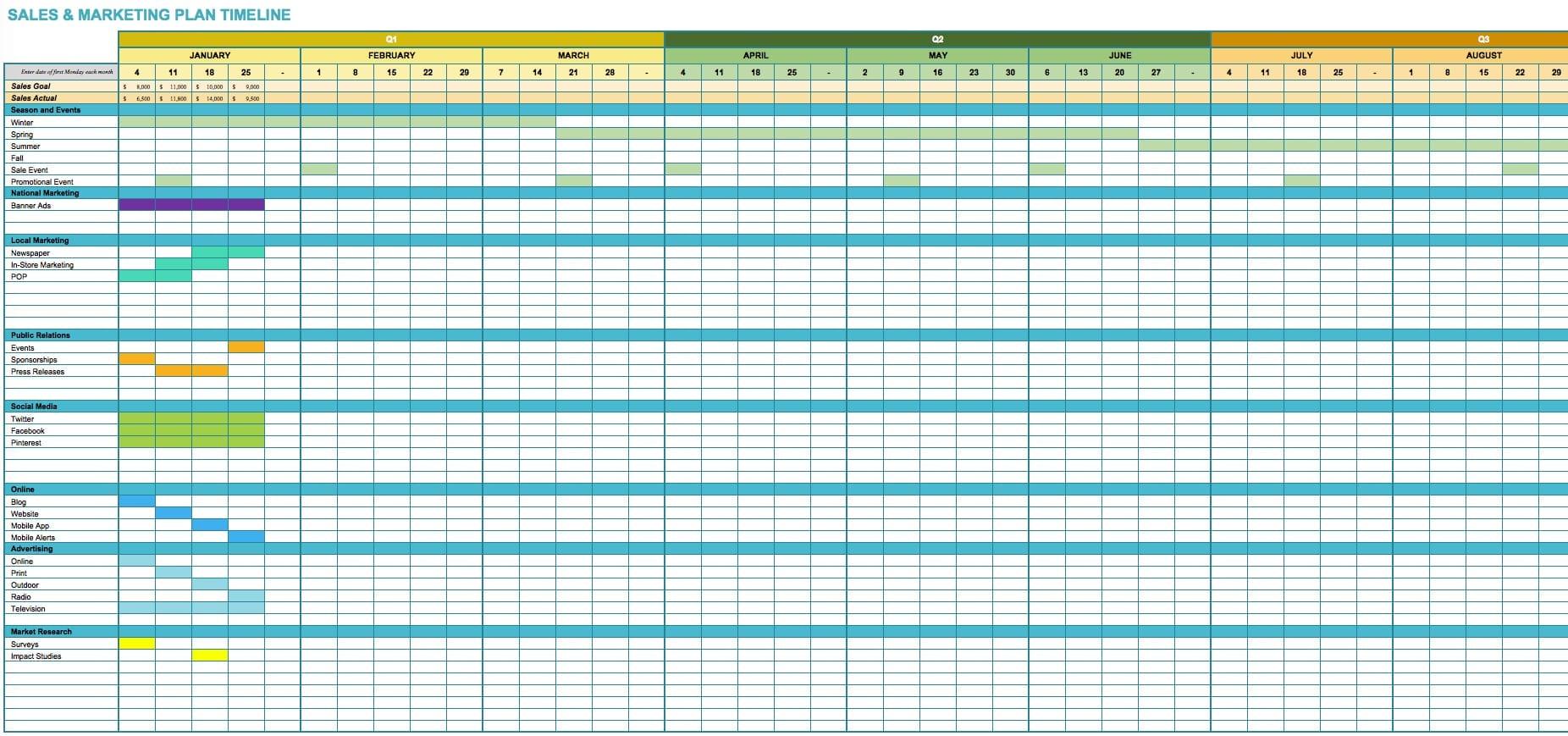 marketing spreadsheet template marketing spreadsheet. Black Bedroom Furniture Sets. Home Design Ideas