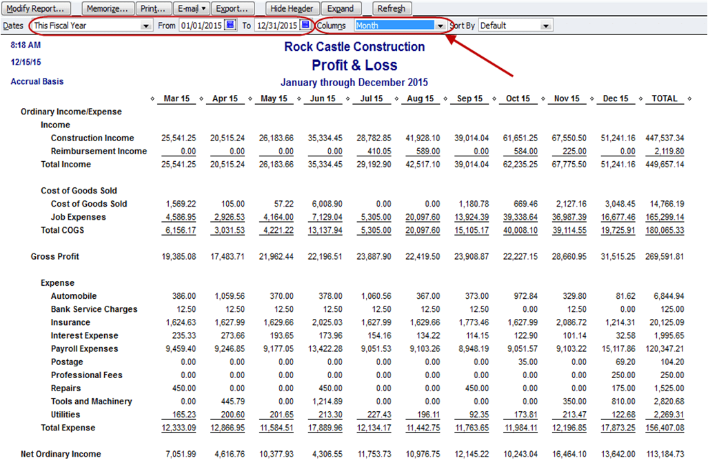 Monthly Income Statement Excelxo Com