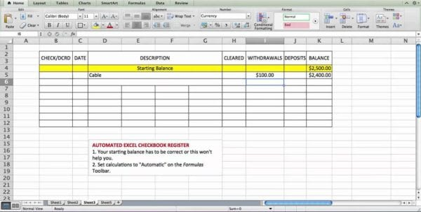 Printable Bank Reconciliation Worksheet Excel Bank Account Template Accounting Spreadsheet, Spreadsheet Templates for Business