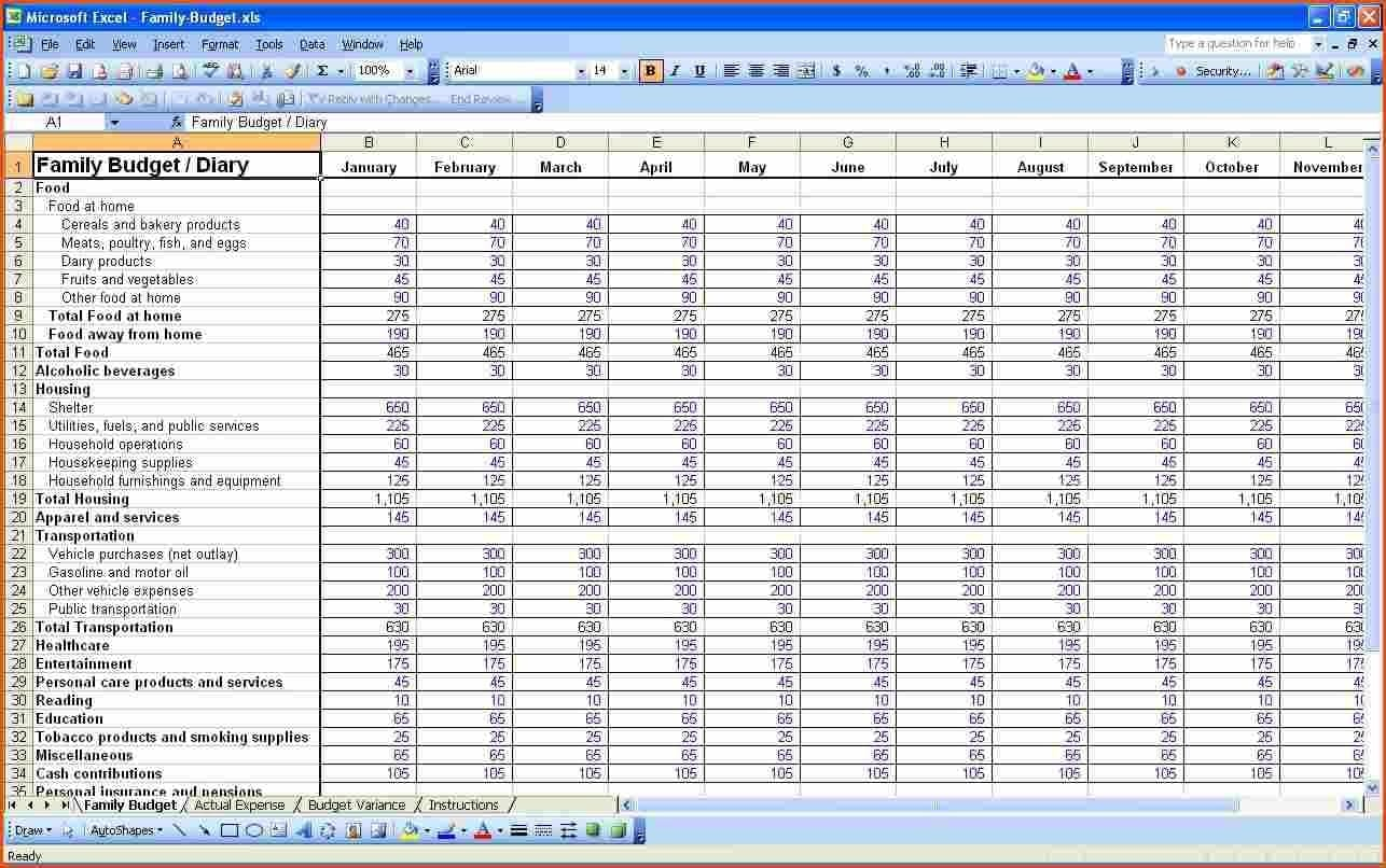 Profit And Loss Statement Template For Self Employed 1