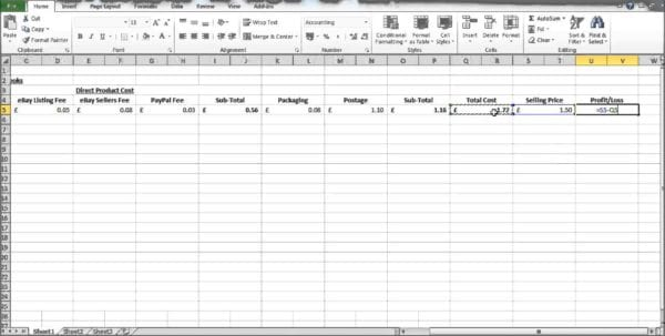 Profit And Loss Template Excel Profit And Loss Spreadsheet Template Profit Loss Spreadsheet, Spreadsheet Templates for Business