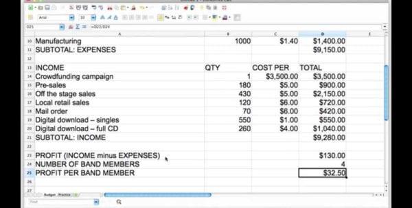 Profit Spreadsheet Example Profit Spreadsheet Template Profit Loss Spreadsheet, Spreadsheet Templates for Business