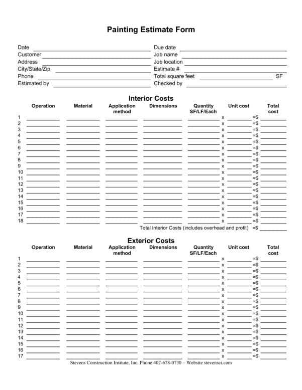 estimating spreadsheet template spreadsheet templates for busines construction estimating. Black Bedroom Furniture Sets. Home Design Ideas