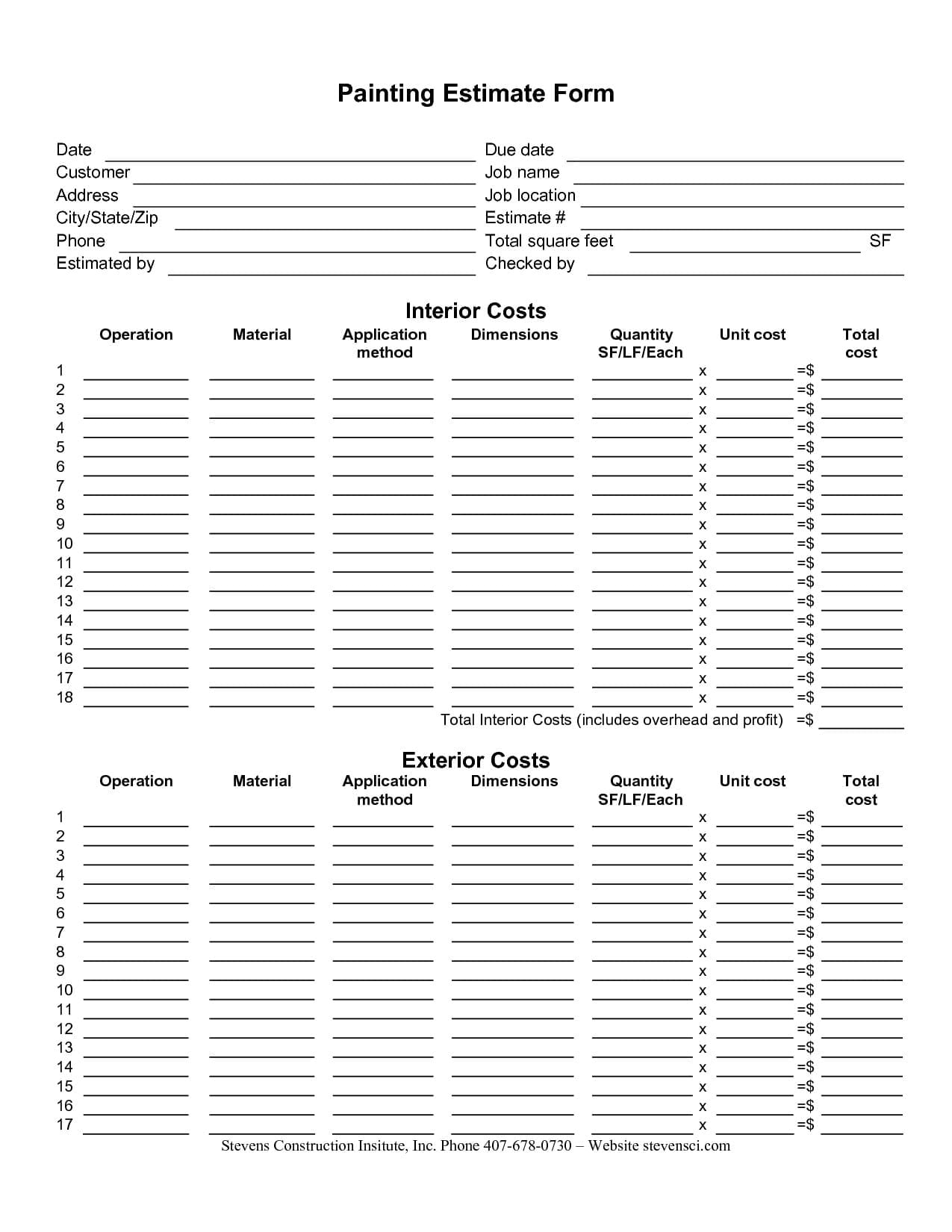estimating spreadsheet template spreadsheet templates for busines free building estimate format. Black Bedroom Furniture Sets. Home Design Ideas