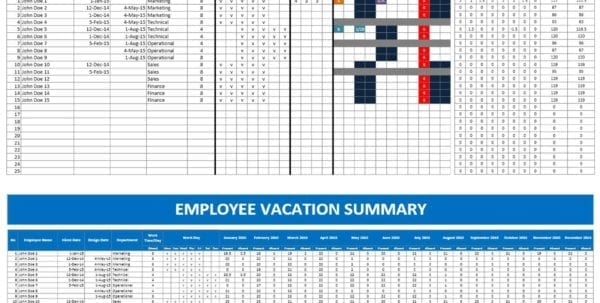 Project Management Excel Templates 1