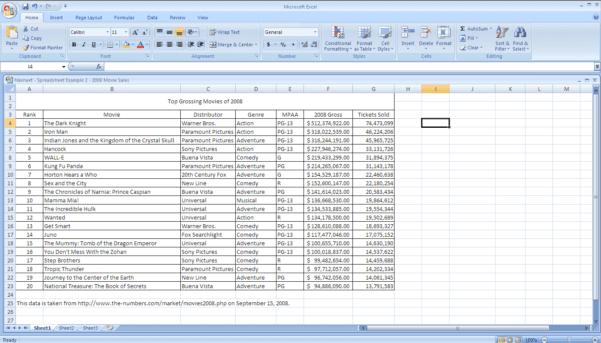 Sample Excel Spreadsheet For Practice