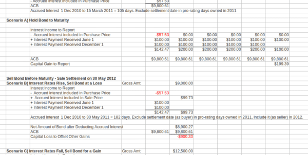 Simple Bookkeeping Template
