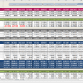 Simple Budget Template Financial Budget Spreadsheet Template