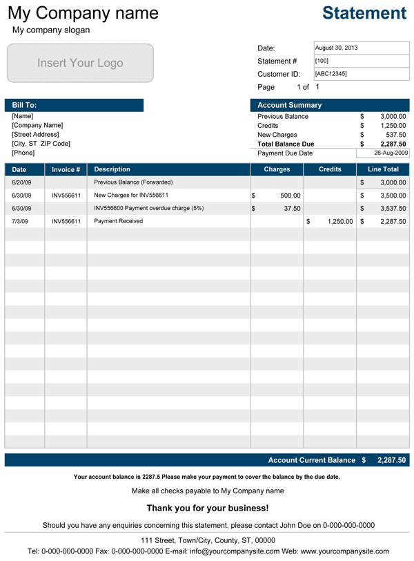 Simple Excel Accounting Spreadsheet