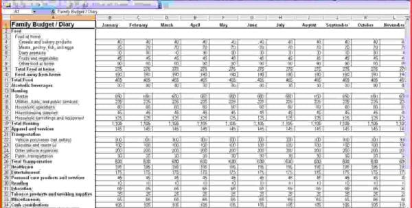 Small Business Spreadsheet For Income And Expenses Accounting Spreadsheet Template Accounting Spreadsheet, Spreadsheet Templates for Business