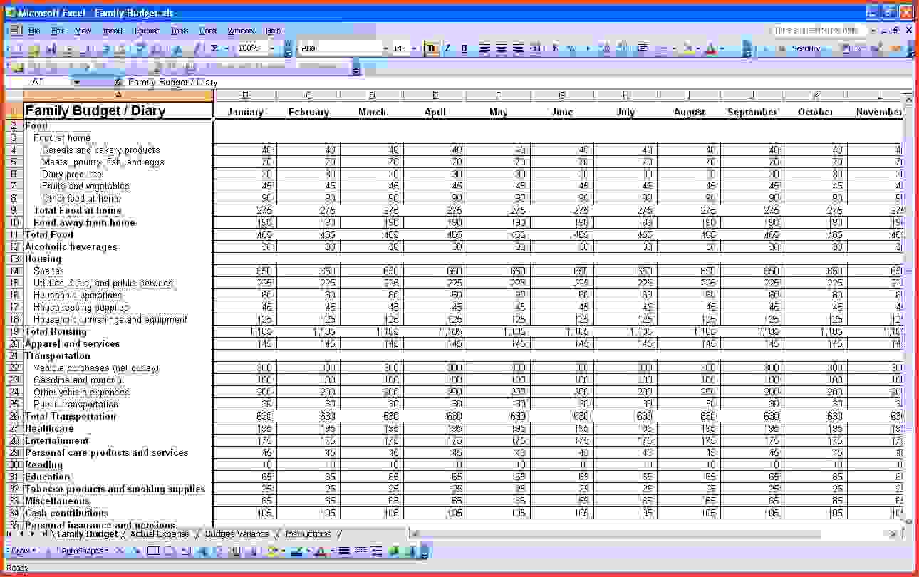 small business spreadsheet for income and expenses 3
