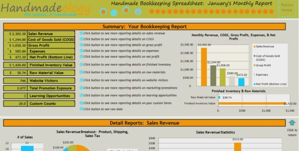 Spreadsheets For Small Business