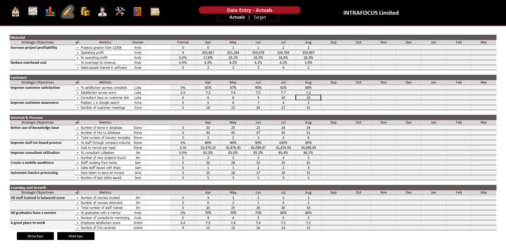 survey spreadsheet template