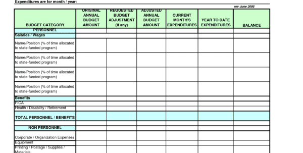 Training Plan Templates In Excel