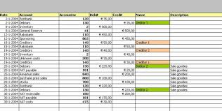 Up2date Bookkeeping Spreadsheet
