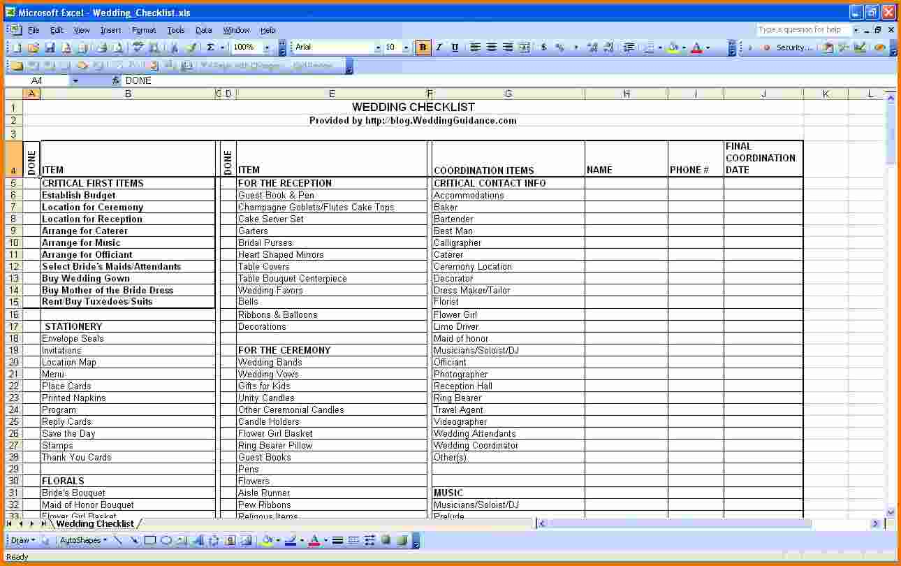 Wedding Budget Excel Spreadsheet Wedding Spreadsheet Template Spreadsheet Templates For Busines