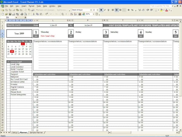Free Expense Report Form Pdf 3