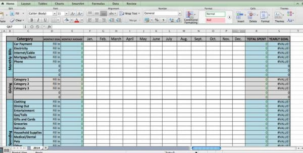 Excel Estimating Spreadsheet Template