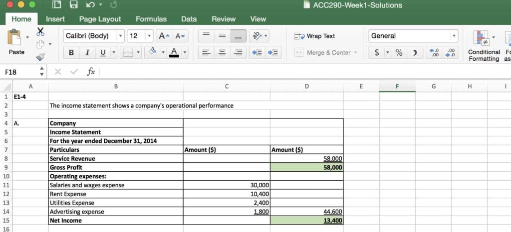 Accounting Spreadsheet Template For Small Business 7