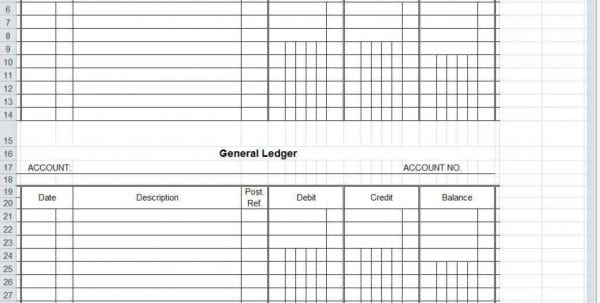 Accounts Spreadsheet Template Uk
