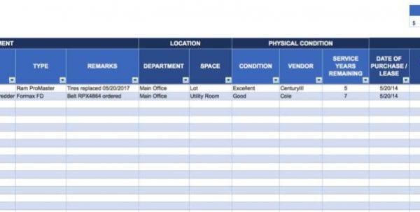 Avon Inventory Spreadsheet