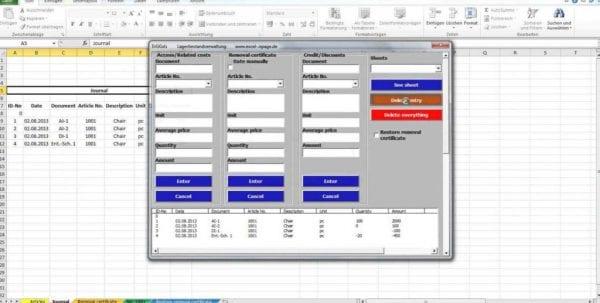 Bar Inventory Sheet Template Free