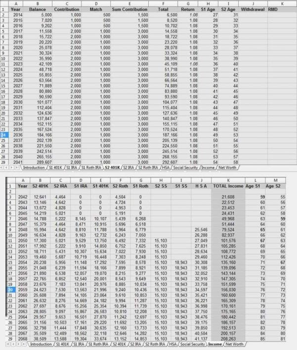 Best Retirement Calculator Spreadsheet