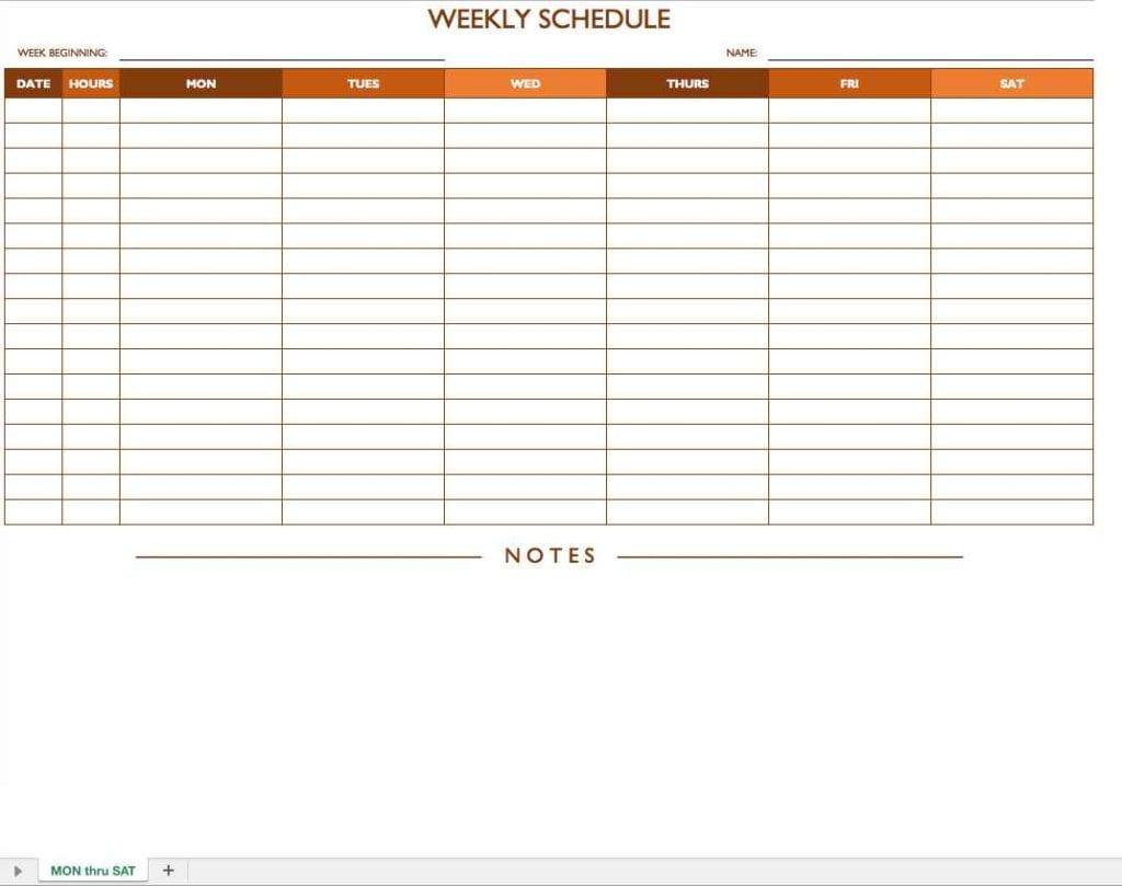 Budget Planner Spreadsheet Template 1