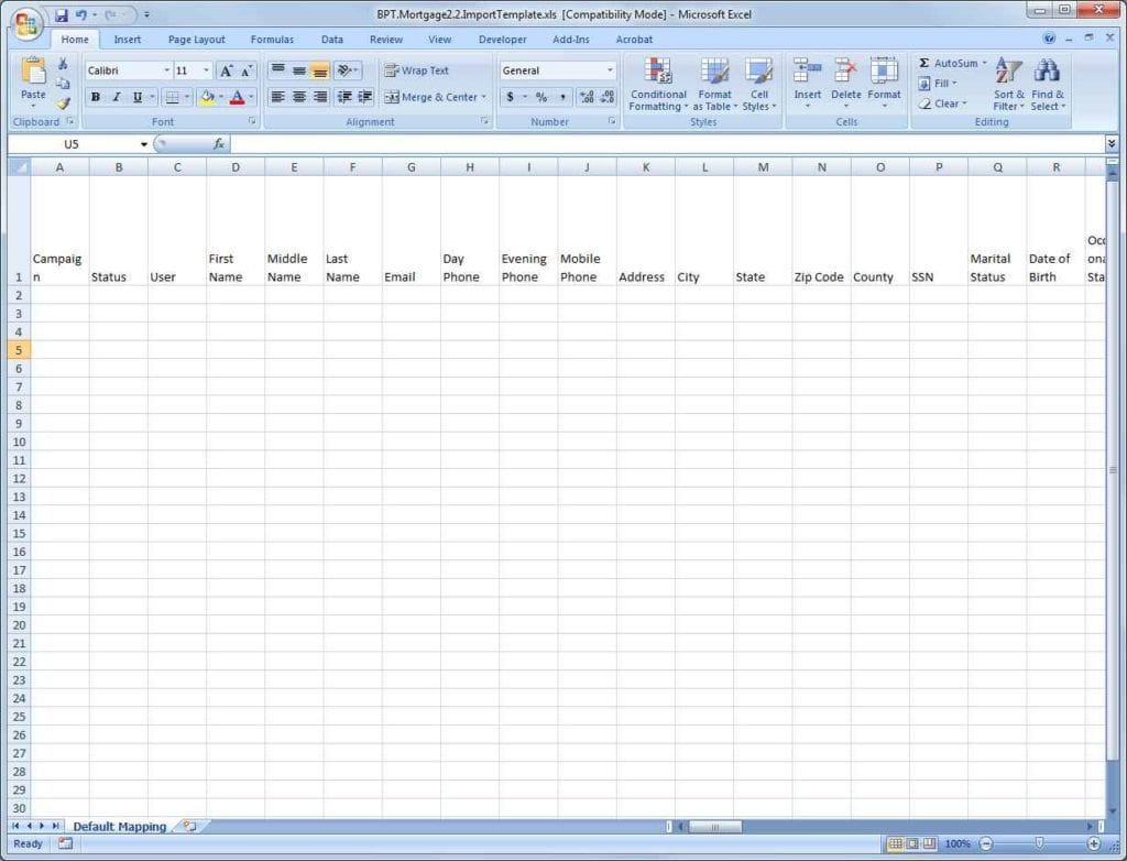 Budget Spreadsheet Template Excel 3