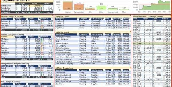 Business Startup Spreadsheet Template